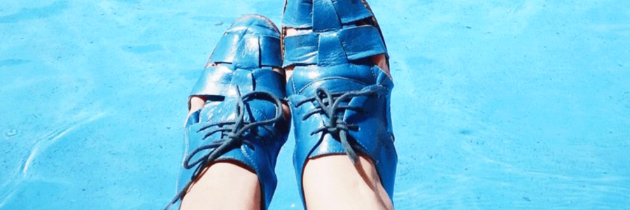 Blue Shoes, Blue Water