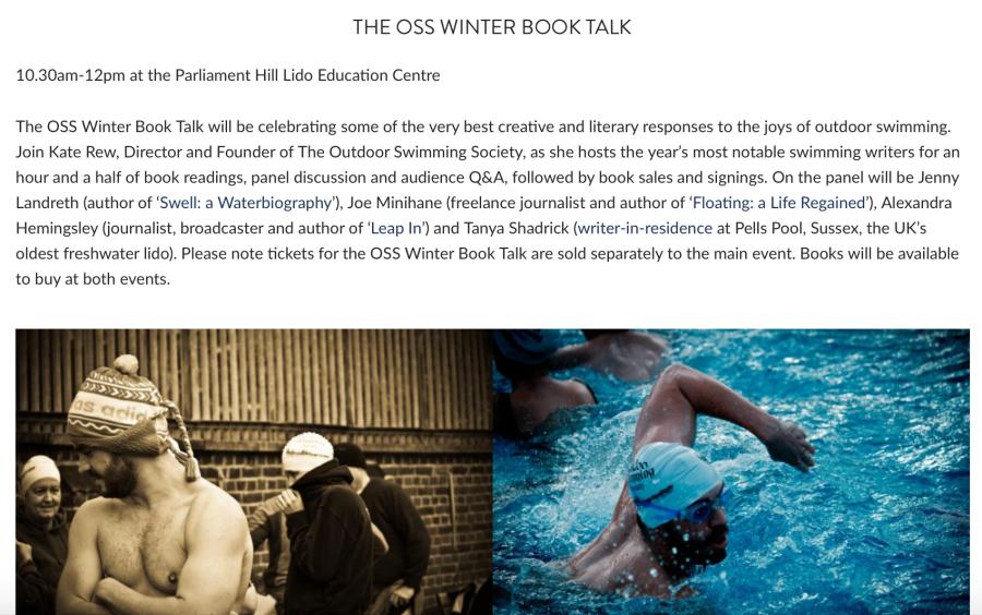 OSS Winter Book Talk
