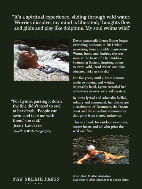 Wild Woman Swimming Back Cover
