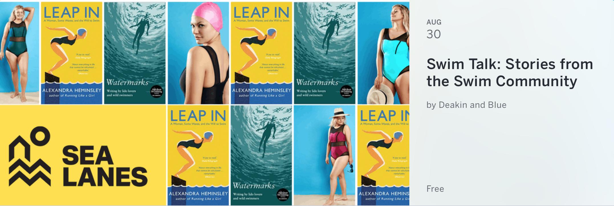 Swim Talk at Sea Lanes