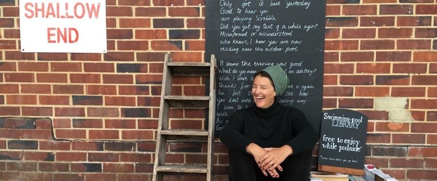 Tanya Shadrick End of Pells Residency