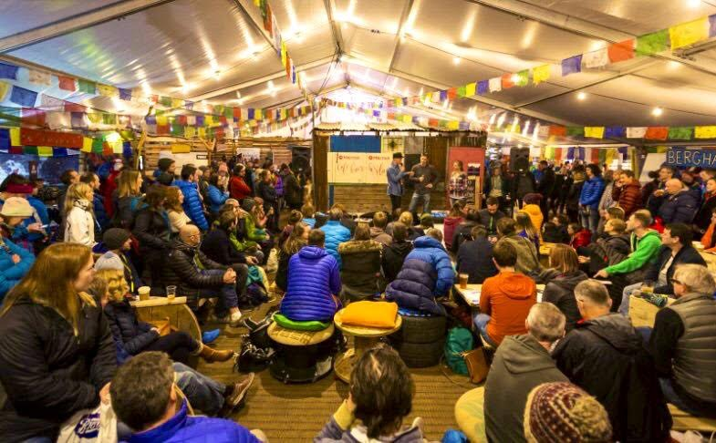 Kendal Mountain Festival 2017 - In Audience