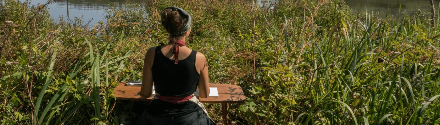 Tanya Shadrick at Warnham Nature Reserve