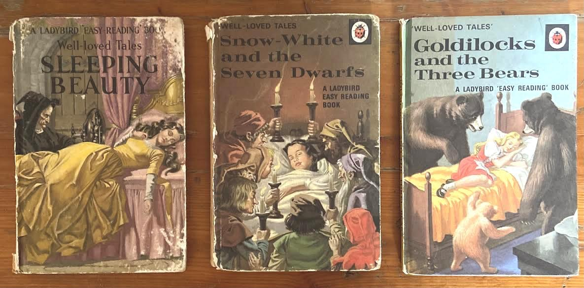 Ladybird Books Belonging to Tanya Shadrick